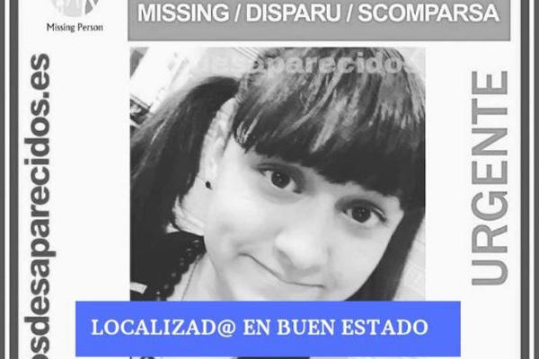 Estela llevaba perdida desde el pasado 28 de enero