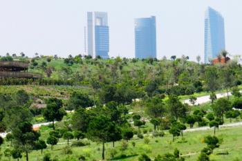 Con esta ejecución se construirá el mayor pulmón urbano de Madrid