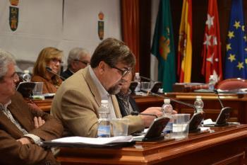 """El portavoz del grupo, Miguel Sainz, critica """"el uso de la violencia contra partidos políticos y para amedrentar a la población"""""""