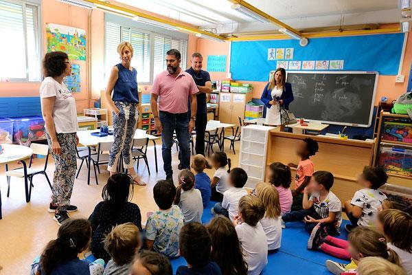 Arranca el curso escolar con 12.487 estudiantes