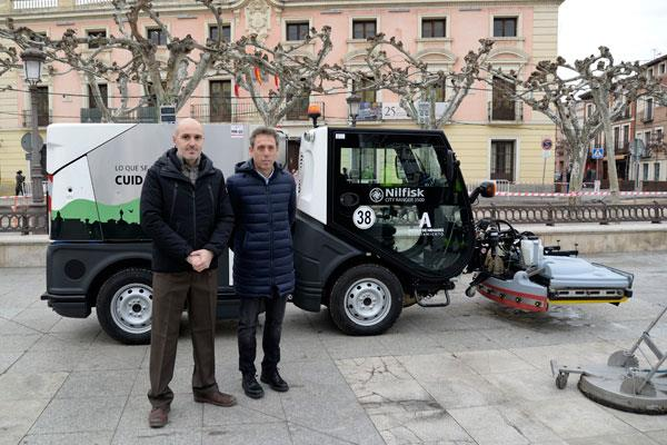 Arranca el plan de limpieza intensiva en la ciudad