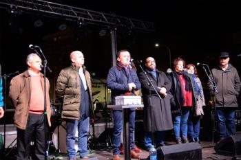 El alcalde de Coslada, Ángel Viveros, ha sido el encargado de dar el pistoletazo de salida