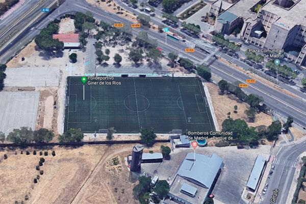 Arrancan las obras del nuevo aparcamiento del Polideportivo Giner de los Ríos