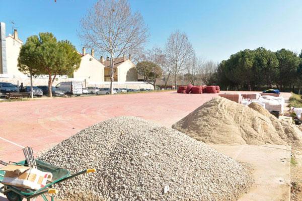 Las tareas contemplan actuaciones de remodelación integral del parque de la carretera de Villaviciosa