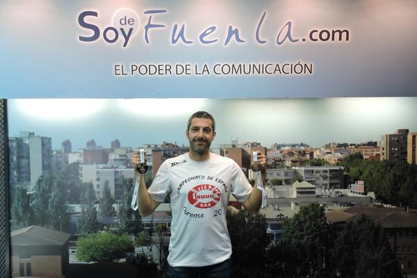 El humanense es Campeón de España y quinto de Europa de Salvamento