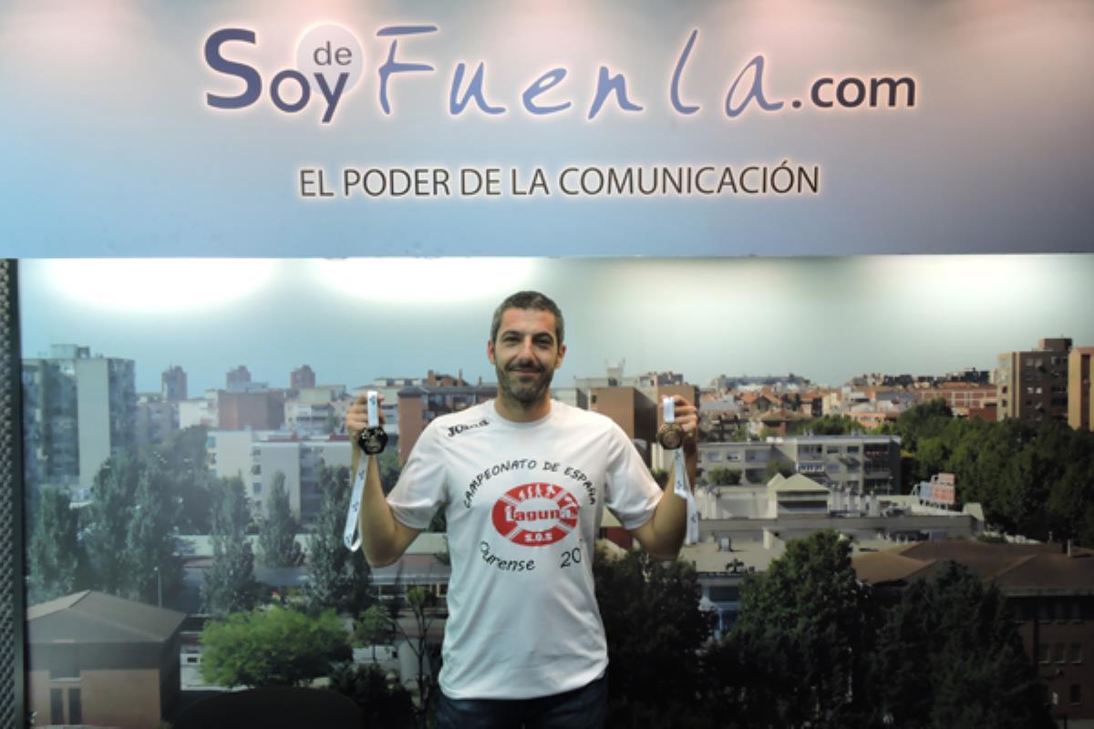 Arturo Contreras, Campeón de España y quinto de Europa de Salvamento y vecino de Humanes de Madrid