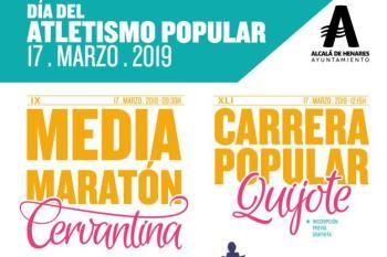 Más de 800 personas participaron en la Carrera Popular Quijote y más de 1.000 en la Media Maratón Cervantina