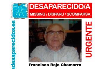 Francisco Rojo Chamorro, vecino de Alcobendas fue visto por última vez el lunes 7 de enero