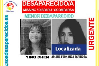 El pasado 11 de febrero Ying Chen desapareció en Torrejón de Ardoz, mientras que Ariana Fernanda desapareció en Meco