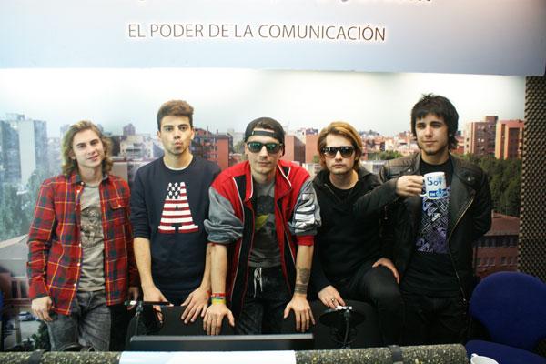 Keko, Guille, Alex, Marcos y Lalo estarán a las 19.30h el viernes 1 de abril en la sala SHOKO de Madrid para romper moldes, ¡como siempre!
