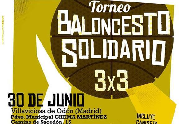 Baloncesto y solidaridad, de la mano en Villaviciosa