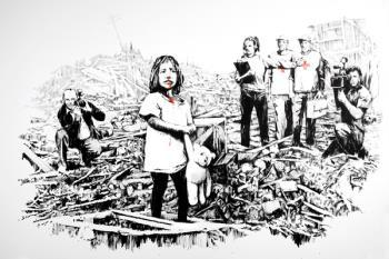 IFEMA acoge, hasta el 10 de marzo, una muestra expositiva sobre el reivindicativo artista callejero que se ha consagrado como una auténtica revolución