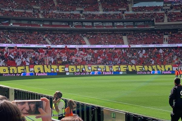 Atlético de Madrid Femenino y FC Barcelona vivieron algo más que fútbol