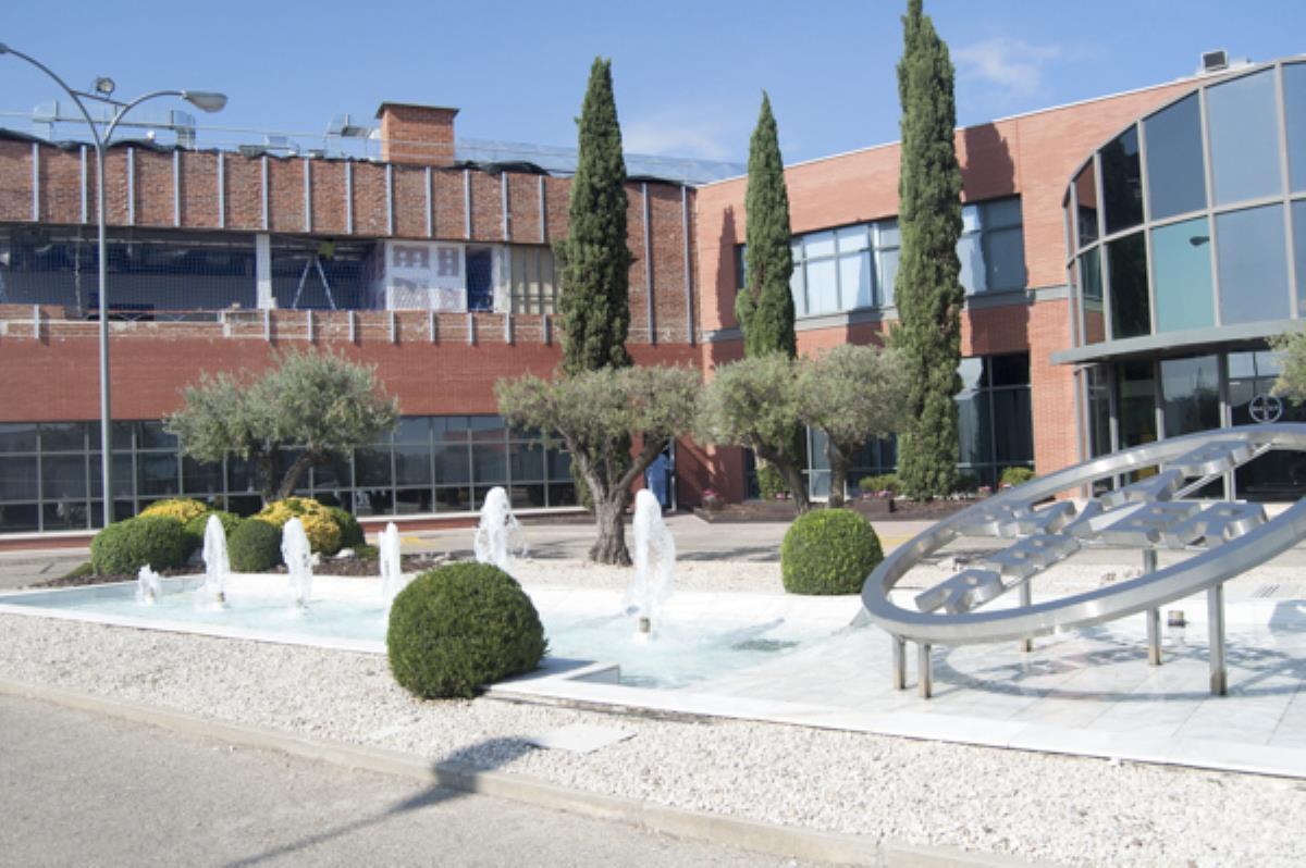 Ampliación en construcción en la planta de Alcalá