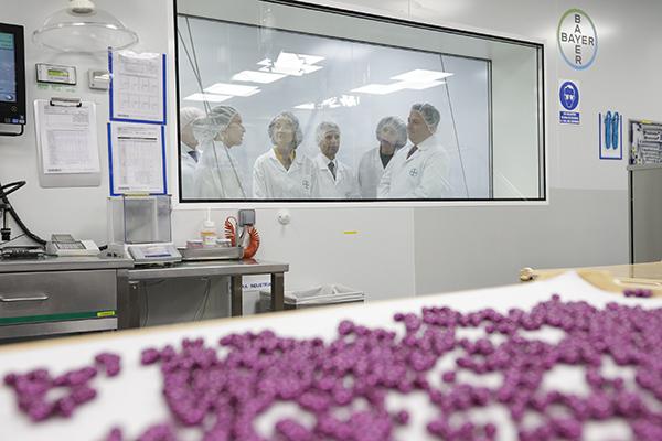 Berlimed es el único centro de la compañía que fabrica cápsulas de gelatina blanda