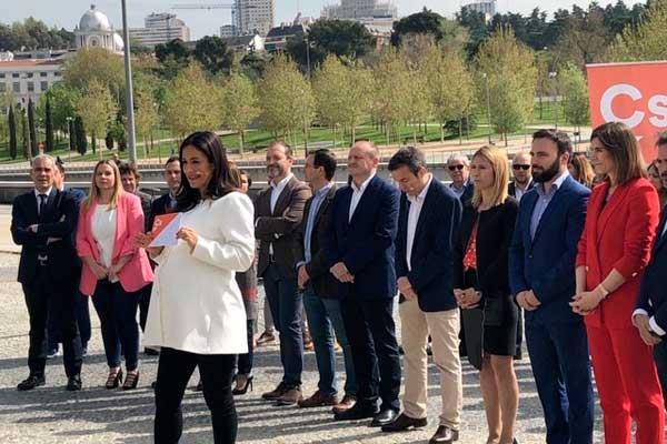 Begoña Villacís presenta a sus nuevos fichajes para las municipales