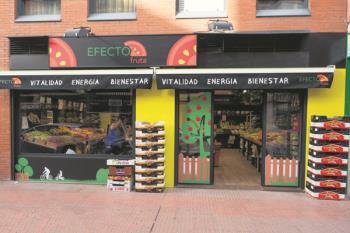 La frutería inaugura su tienda de Móstoles