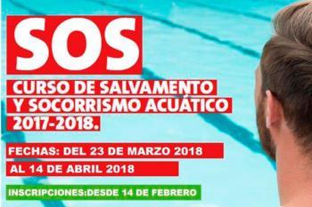 Tendrá lugar en semana santa y será impartida por la Federación Madrileña de Salvamento y Socorrismo