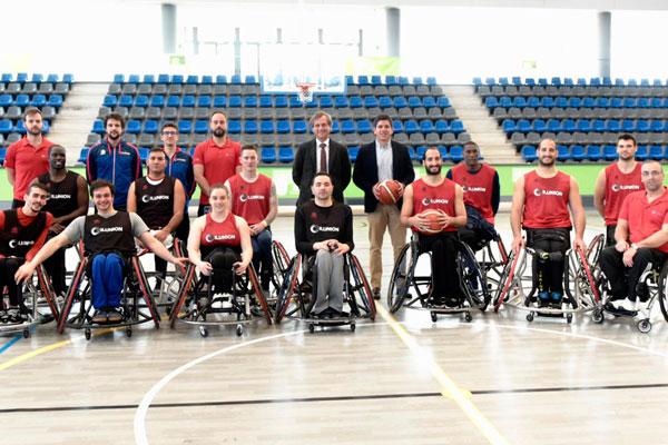 El municipio acoge una emocionante liguilla en cuartos de final de la Champions League de baloncesto en silla de ruedas