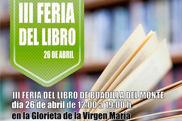 Boadilla celebra su III Feria del Libro