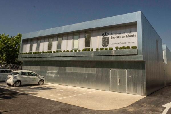 Boadilla contará con una nueva instalación del servicio de parques y jardines