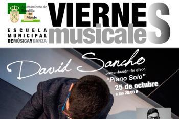 Se inicia este 25 de octubre con un concierto de David Sancho