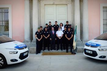 El alcalde, Javier Úbeda, ha estado presente en el acto de toma de posesión
