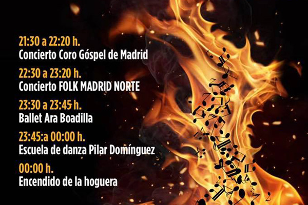 Durante la noche del domingo se realizarán exhibiciones de danza y música en directo