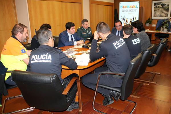 El dispositivo estará integrado por 86 efectivos de Policía Local, Guardia Civil y Protección Civil