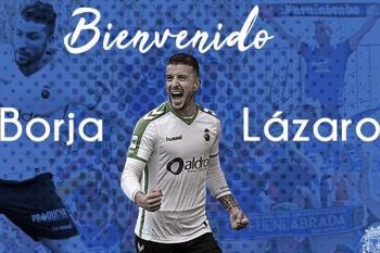 Borja Lázaro ya es jugador del CF Fuenlabrada y firma por las próximas dos temporadas.