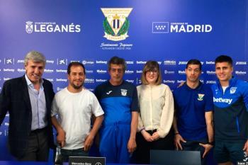 Las fundaciones de 'El Langui', del Leganés y la de Emilio Moro, presentaron su iniciativa conjunta