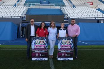 Por primera vez, el C.D. Leganés femenino jugará en el Estadio Municipal de Butarque