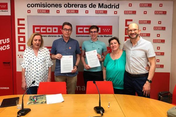 CCOO y Arcópoli se unen en la lucha contra la homofobia en el trabajo
