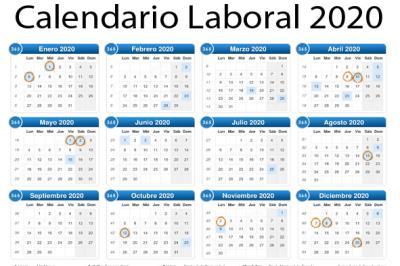 Lee toda la noticia 'Calendario Laboral 2020'