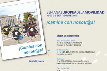 Del 16 al 22 de septiembre nuestra ciudad contará con actividades centradas en la movilidad sostenible