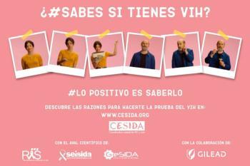 """Javier Cámara y Anna Castillo, protagonizan la nueva campaña """"SABES"""" de CESIDA"""