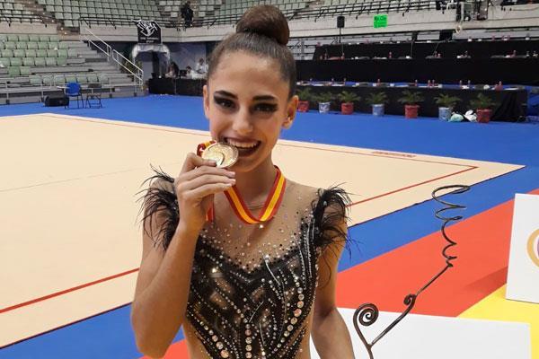 El club de gimnasia rítmica de San Fernando protagonista en el campeonato de España