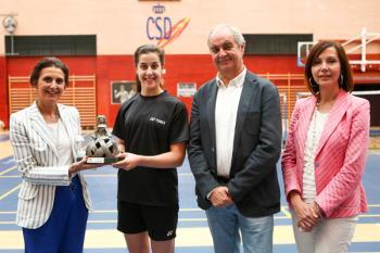 La Fundación del Deporte la ha nombrado primera socia de honor