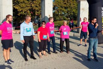 Una marcha de cinco kilómetros es una iniciativa de la comisión europea