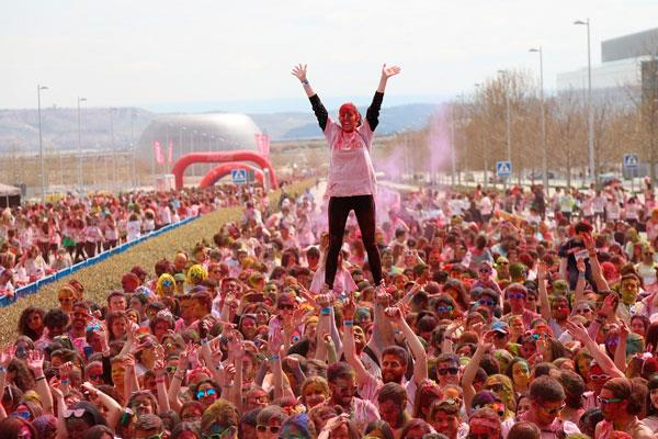 La primera carrera de colores en España Holi Life, vuelve a Alcorcón