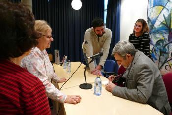 La Biblioteca Central de la ciudad acogió una cita en la que también estuvo presente la alcaldesa Noelia Posse