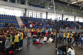 Alumnos de diversos centros participaron en la yincana matemática