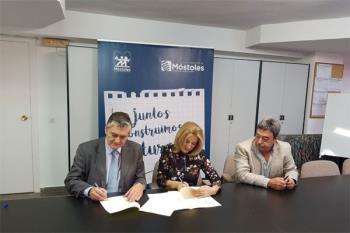Móstoles y la Fundación Clínica Universitaria Rey Juan Carlos han firmado un convenio para promocionar la salud bucodental en los estudiantes