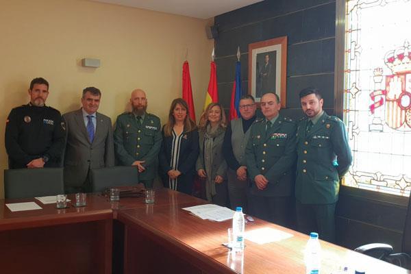 Celebración de la primera Junta local de Seguridad en Moraleja