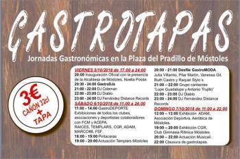 Música, desfiles, exhibiciones y tapas, sobre todo TAPAS!!