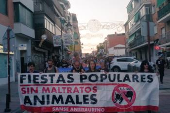 Además de esta marcha, el martes se llevará a cabo una concentración contra las becerradas