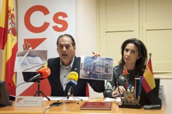 Lezcano y Ropero han criticado la Ciudad de la Navidad, la Cabalgata y la iluminación