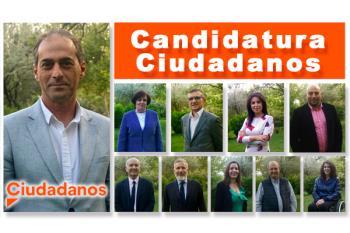 La formación naranja presenta su apuesta para las elecciones municipales del próximo 26 de mayo
