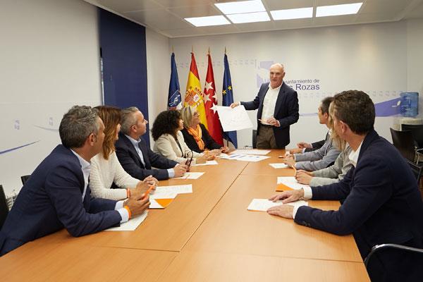 Ciudadanos Las Rozas apuesta por una revisión del contrato de basuras