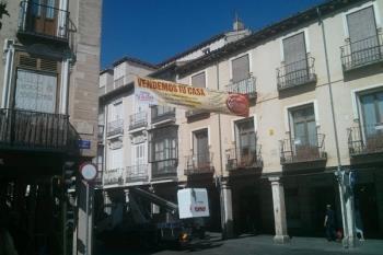 """Ciudadanos Alcalá asegura que dañan """"la imagen y el sentido de  Ciudad Patrimonio de la Humanidad"""""""